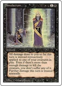 Magic the Gathering Revised Edition Single Card Uncommon Simulacrum