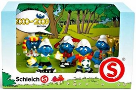 Schleich The Smurfs Mini Figure 5-Pack Set #41259 2000-2009