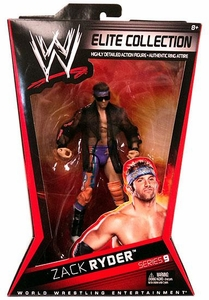 Mattel WWE Wrestling Elite Series 9 Action Figure Zack Ryder