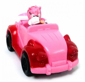 Tomy Gacha Sonic the Hedgehog Pullbacks Mini Figure Amy