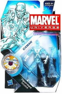 Marvel Universe 3 3/4 Inch Series 16 Action Figure #23 Iceman