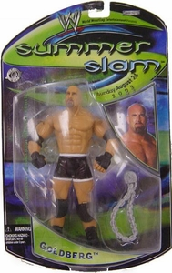 WWE Jakks Pacific Wrestling 2003 SummerSlam Action Figure Goldberg