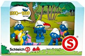 Schleich The Smurfs Mini Figure 5-Pack Set #41258 1990-1999