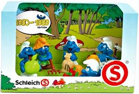 Schleich The Smurfs Mini Figure 5-Pack Set #41257 1980-1989