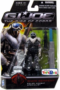 GI Joe Movie The Rise of Cobra 3 3/4 Inch Exclusive Action Figure Snow Serpent [Polar Combat Specialist]