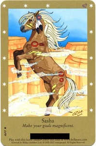 Bella Sara Horses Trading Card Game Series 2 Single Card Common 48/97 Sasha