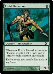 Magic the Gathering Tenth Edition Single Card Common #260 Elvish Berserker