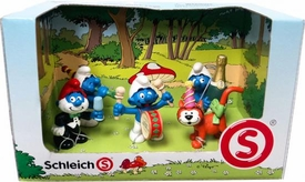 Schleich The Smurfs Mini Figure 5-Pack Set #41247 Celebration