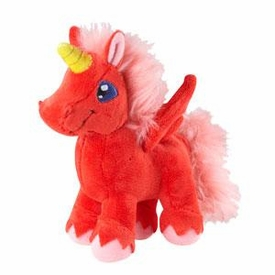 Neopets Collector Species Series 7 Plush with Keyquest Code Red Uni