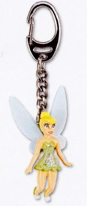 Disney Fairies Movie PVC Keyring Keychain Tinker Bell Style #24388