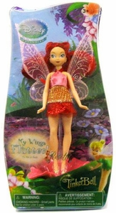 Disney Fairies Exclusive 5 Inch Action Figure Rosetta with Fluttering Wings