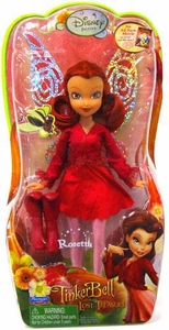 Playmates Toys Disney Fairies Tinkerbell & The Lost Treasure 8 Inch Figure Rosetta