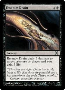 Magic the Gathering Tenth Edition Single Card Common #141 Essence Drain