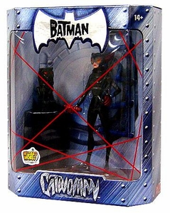 The Batman 2005 San Diego Comic Con Exclusive Action Figure Catwoman Black Onyx Statue Variant