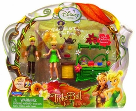 Playmates Toys Disney Fairies Tinkerbell & The Lost Treasure Playset Tinkerbell & Terence Tea Party