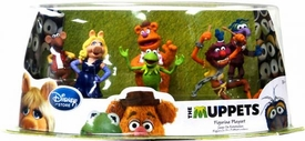 Disney Muppets Movie Exclusive 6-Piece PVC Figurine Playset [Miss Piggy, Kermit, Fozzie, Animal, Gonzo & Rizzo]