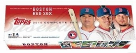 Topps MLB Baseball Cards 2010 BOSTON RED SOX TEAM EDITION Complete Factory Set [660 Cards Plus, 5 Card Highlight Pack] Stephen Strasburg Rookie Card!