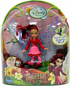 Disney Fairies Tinker Bell & The Lost Treasure 3.5 Inch Mini Figure Rosetta [Works with Flitterific Wand!]