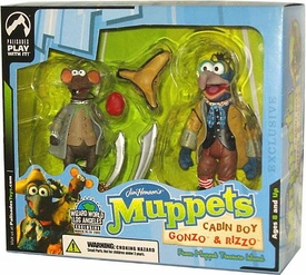 The Muppets Exclusive Action Figure 2-Pack Cabin Boy Gonzo & Rizzo