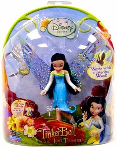 Disney Fairies Tinker Bell & The Lost Treasure 3.5 Inch Mini Figure Silvermist [Works with Flitterific Wand!]