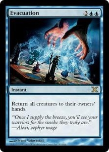 Magic the Gathering Tenth Edition Single Card Rare #83 Evacuation