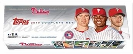 Topps MLB Baseball Cards 2010 PHILADELPHIA PHILLIES TEAM EDITION Complete Factory Set [660 Cards Plus, 5 Card Highlight Pack] Stephen Strasburg Rookie Card!