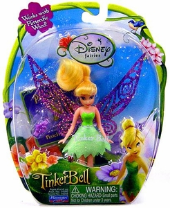 Disney Fairies Tinker Bell & The Lost Treasure 3.5 Inch Mini Figure Tinker Bell [Works with Flitterific Wand!]