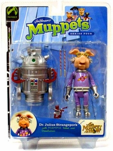 The Muppets Series 4 Action Figure Dr. Julius Strangepork