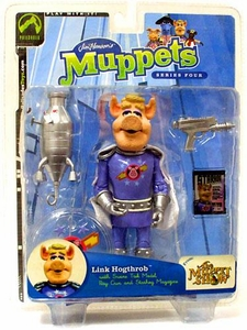 The Muppets Series 4 Action Figure Link Hogthrob