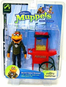 The Muppets Series 8 Action Figure Movie Usher Scooter
