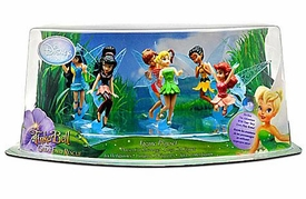 Disney FairiesTinker Bell And The Great Fairy Rescue Exclusive Collector 6 Piece PVC Set [Tinker Bell, Fawn, Iridessa, Rosetta, Silvermist & Vidia]