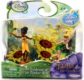 Disney Fairies Tinker Bell And The Great Fairy Rescue Talent Series 3 2-Pack Iridessa & Tinker Bell