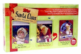 Topps 2007 Santa Claus Holiday Card Set