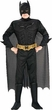 Batman The Dark Knight Rubies Costume #883104 Muscle Chest Batman Deluxe Child Size