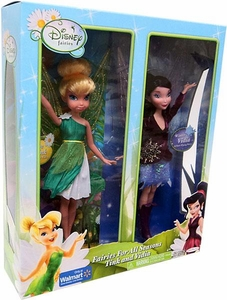Disney Fairies Exclusive Fairies For All Seasons Action Figure Doll 2-Pack Tink and Vidia