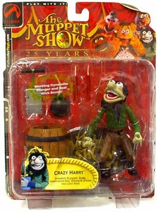 The Muppets Series 2 Action Figure Crazy Harry