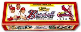2006 Topps MLB Baseball Cards Hobby Factory Sealed Set ST. LOUIS CARDINALS EDITION