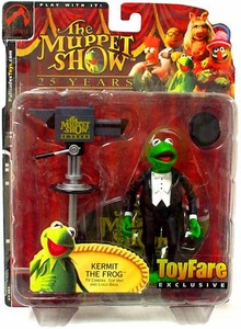 The Muppets ToyFare Exclusive Action Figure Master of Ceremonies Kermit the Frog
