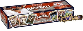 2005 Topps Baseball Complete Sets Team Editon Boston Red Sox