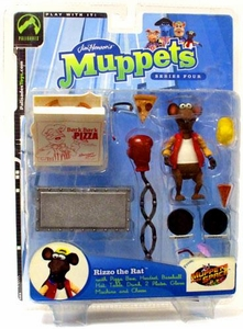 The Muppets Series 4 Action Figure Rizzo Red Jacket