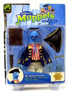 The Muppets Series 4 Action Figure Mr. Samuel Arrow