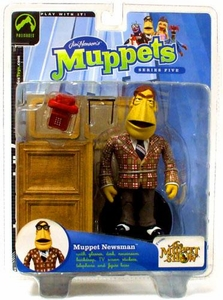 The Muppets Series 5 Action Figure Newsman