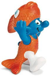 Schleich The Smurfs Mini Figure Pisces Smurf