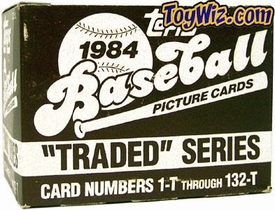 1984 Topps Rookie and Traded Baseball Cards Factory Set