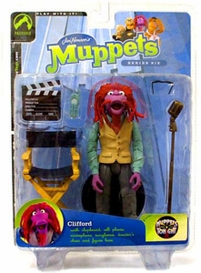 The Muppets Series 6 Action Figure Clifford Green Shirt Variant BLOWOUT SALE!