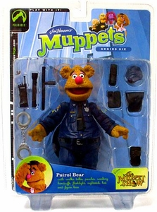 The Muppets Series 6 Action Figure Patrol Bear Fozzie