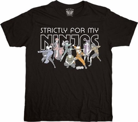 Naruto Adult T-Shirt Strictly For My Ninjas