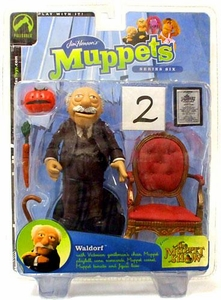 The Muppets Series 6 Action Figure Waldorf