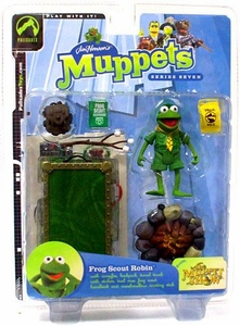 The Muppets Series 7 Action Figure Frog Scout Robin