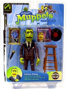 The Muppets Series 7 Action Figure Johnny Fiama [Purple Suit]